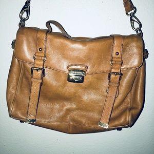 Cynthia Rowley large cross body leather purse